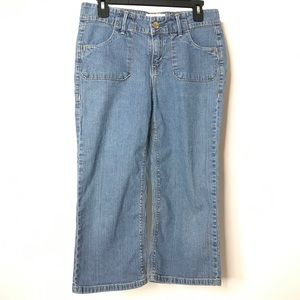 Levi Strauss Signature Denim Capris Size 8